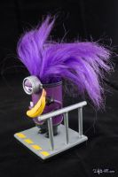 [Garage kit painting #03] Evil Minion statue - 011 by DasArt