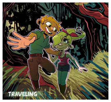 HA - Traveling by SquirrelTamer