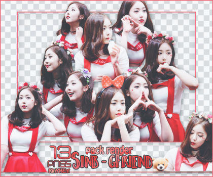 [PACK RENDER #69] 13 PNGS SINB - GFRIEND by RinYHEnt