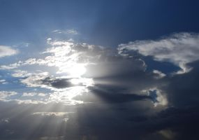Sun Clouds Stock 0173 by Phenix59