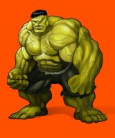 Hulk Color Test by BongzBerry