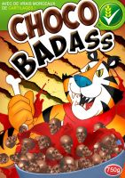 ChocoBadass breakfast cereal by Tohad