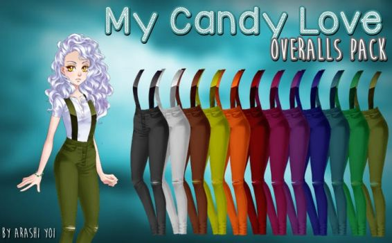 My Candy Love - Overalls Pack by Arashi-Yoi