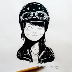 Inktober day 17 by raultrevino