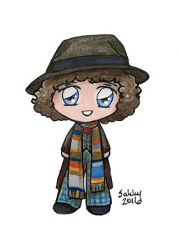 Tom Baker - 4th Doctor Who by sakkysa
