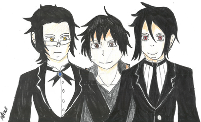 AT: 2 Demon Servants And A Broker by HinataFox790