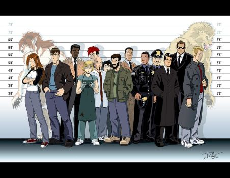 The Usual Suspects - PS Cast by dirktiede