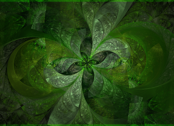 four leaf clover by sewer-pancake