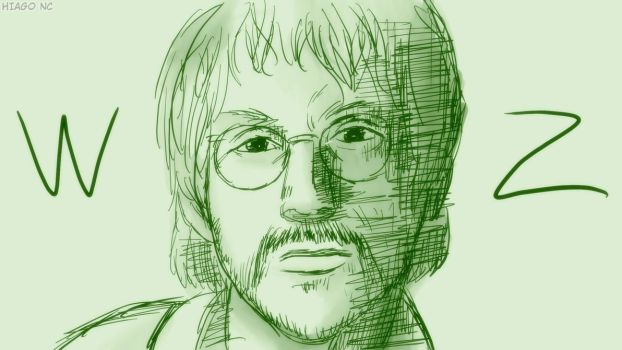 Warren Zevon by Hiagusres