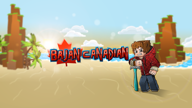 New Youtube Background - BajanCanadian by FinsGraphics