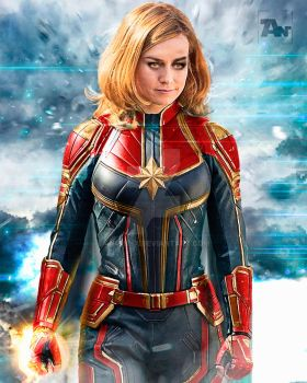 Poster: Captain Marvel | 2 by 4n4rkyX