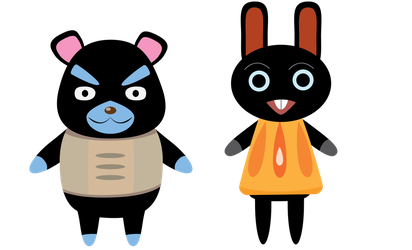Animal Crossing Villagers by RainingKnote