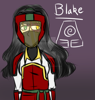 RWBY Pro Bending AU - Blake by puppyloverpearl