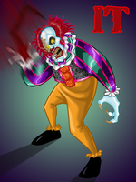 IT- Pennywise by jedijorel