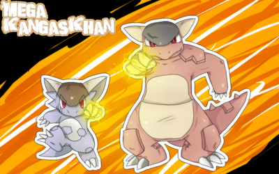 .:M3GA KANGASKHAN:. by gretellu