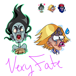 Twitch Emotes by VexyFate