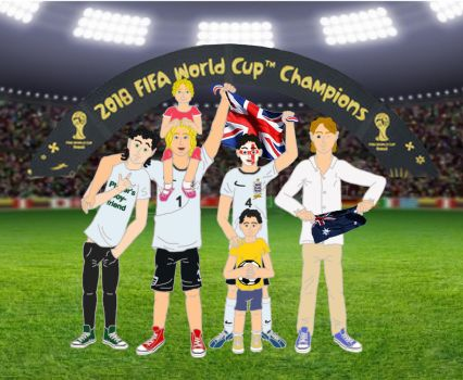 World Cup Champions 2018 by NamoraMalfoy