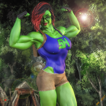Sam-Hulk Tomb Raider by hotrod5