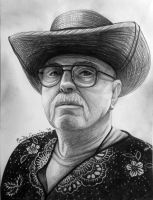 William Yackel's Pencil Portrait by EmilyCammisa