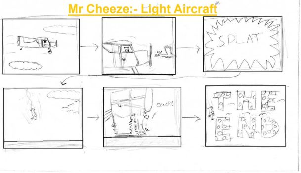 Mr. Cheeze:- Light Aircraft by Pingpongalong