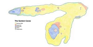 Map of the Senlem Caves by salpfish1