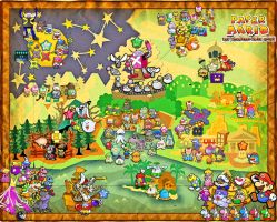 Paper Mario: The 1,000 Year Door Map by SilverBuller