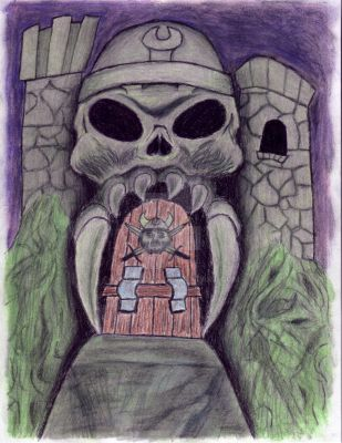 Castle Grayskull Colored by kingtycho
