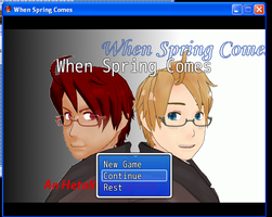2P!Hetalia Fangame - When Spring Comes [Chapter 1] by KarinaKamichi