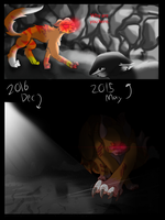 Cave redraw comparison by OliveCow