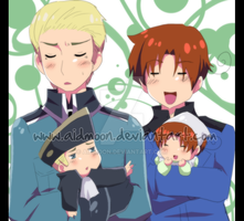 APH . Chibilove . by aidmoon