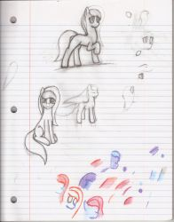 Mare Sketches #1 by Antnoob
