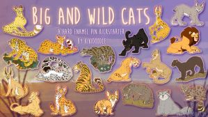 2 days left in Big And Wild Cat Kickstarter by kiki-doodle