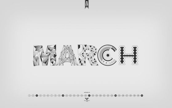 March 2013 - Wallpaper for ARTcast by Waterboy1992