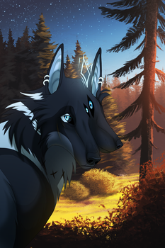 Into The Forest by InstantCoyote