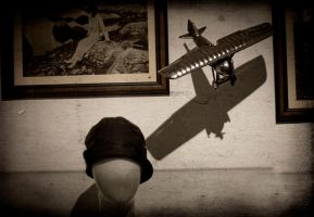 Hommage to Howard Hughes by meaniebeanie