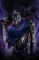Commission - Artorias of the Abyss by paradoxyears