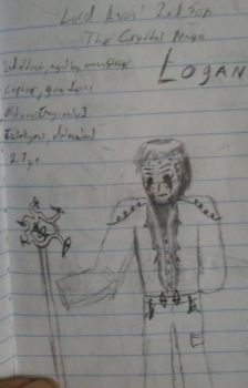 Logan, The Crystal Mage by RadiantAbyss