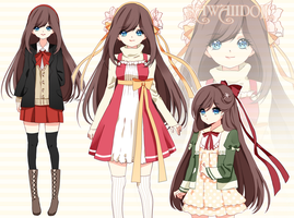 [CLOSED] Adoptable Girl AUCTION by SawaiiDoll