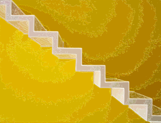 Crystalline Stairway by Raydianze