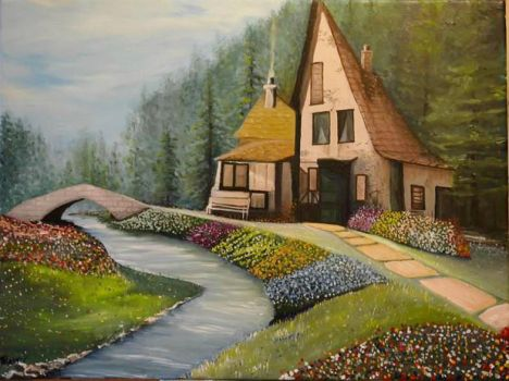The fairy house by KemmosArt