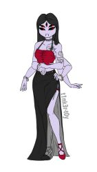 Underfell Muffet reference by t1nk3r-t0y