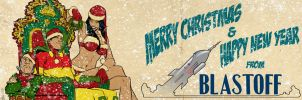A Christmas Miracle banner for Blastoff Comics by elena-casagrande