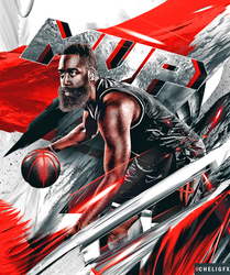 James Harden MVP by Che1ique