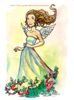 Angel in the Garden by lervold