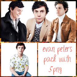 Evan Peters Pack PNG #1 by maarcopngs
