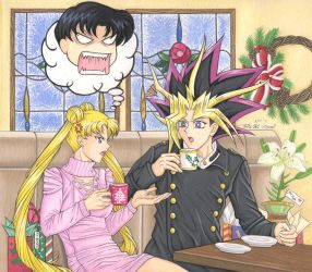 Usagi and Yami: Holiday Shopping Rant by Yamigirl21