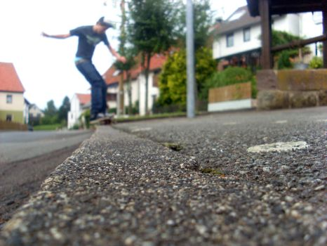 skate. the real way. by Moppelkotze23
