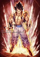 GOGETA from Dragon Ball Broly Movie by marvelmania
