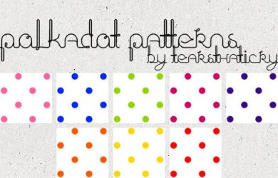 Polkadot Patterns by tearsthaticry