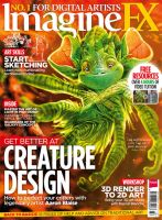 ImagineFX Cover Image - Forest Creature by ablaise